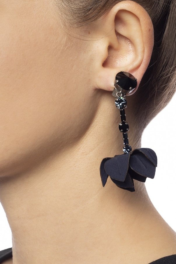 Floral motif earrings od Marni